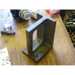 """Corban Scraping 5.25"""" x 7"""" x 10"""" Right Angle Steel Plate"""