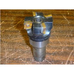 """Shell End Mill Holder with Sandvik 2.5"""" Indexable Face Mill"""
