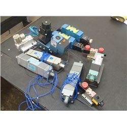 Lot of Misc Pneumatic Directional Control Valves
