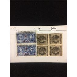 CANADIAN STAMPS LOT (NEWFOUNDLAND -4 CENTS & P.E.I- 6 CENTS)