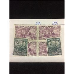 CANADIAN STAMPS LOT (NEWFOUNDLAND 5 & 10 CENTS)