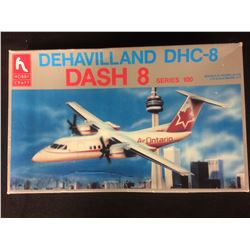 HOBBY CRAFT DEHAVILLAND DCH-8 DASH 8 SERIES 100 1:72 UNASSEMBLED MODEL KIT W/ BOX