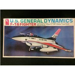 "HOBBY CRAFT U.S GENERAL DYNAMICS F-16 FIGHTER 1""48 SCALE UNASSEMBLED MODEL KIT W/ BOX"