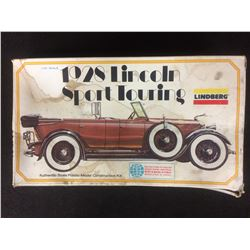LINDBERG 1928 LINCOLN SPORT TOURING 1:32 SCALE UNASSEMBLED MODEL KIT W/ BOX