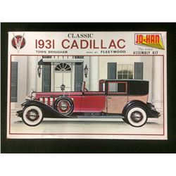 JO-HAN 1931 CLASSIC CADILLAC 1:25 SCALE UNASSEMBLED MODEL KIT W/ BOX