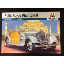 ITALERI ROLLS-ROYCE PHANTOM II 1:24 SCALE UNASSEMBLED MODEL KIT W/ BOX