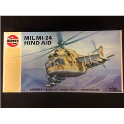 AIRFIX MIL MI-24 HIND A/D 1:72 SCALE UNASSEMBLED MODEL KIT W/ BOX