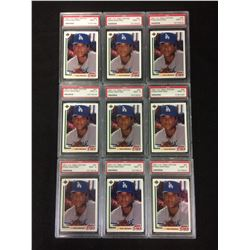 1991 U.D FINAL EDITION #2F PEDRO MARTINEZ BASEBALL CARDS LOT (MINT 9) PSA GRADED
