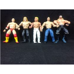 "WWF WRESTLING ACTION FIGURES LOT (6"")"