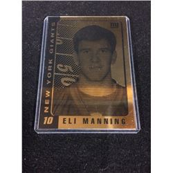 2003 ELI MANNING NY Giants ROOKIE 23K GOLD Card - OFFICIALLY LICENSED