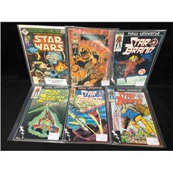 1970-80'S COMIC BOOK LOT (STARBRAND, STAR WARS, DOOMSDAY)