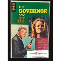 1970 GOVERNOR & JJ #3 LAST ISSUE (GOLD KEY COMICS)