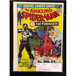 1974 AMAZING SPIDER-MAN #129 (MARVEL COMICS) 1ST PUNISHER APPEARANCE