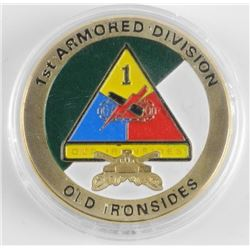 (LUN 17) US ARMY 1st Armoured Division Coin