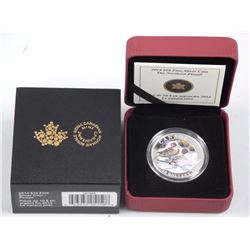 2014 $10 Fine Silver Coin - Harlequin Duck. Issue