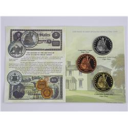 The Famous 1863 Pattern Transitional Dollar - LE C