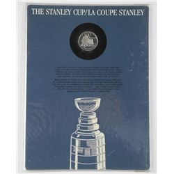 Stanley Cup Display Board w/.925 Silver.