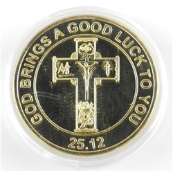 Gold Clad Stamp Medal Non-Monetary