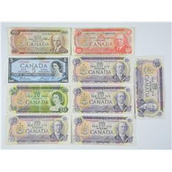 Lot Bank of Canada - Notes. 225.00 Face
