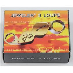 New Jewellers Loupe. Dual - 10 and 20X