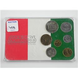 1985 Mexico Coin Set