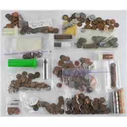 Estate Lot - Mixed Coins etc