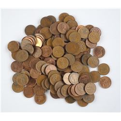 Canada Penny Lot - 1 Pound, Not Searched.