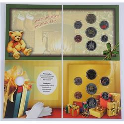 Lot (2) 2005 and 2006 XMAS Coin Sets with Special