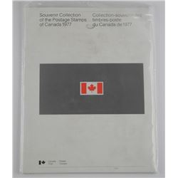 1977 Canada Post Book with Stamps. Cat 40.00