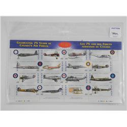 Lot Aircraft Stamps