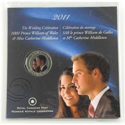 2011 Royal Wedding 25Cent Coin in Folio