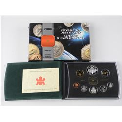 2000 Silver Proof Set - Loon / Discovery / Bear.