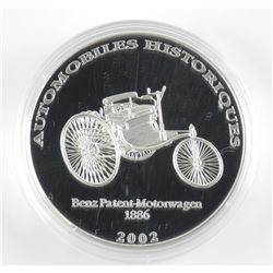 925 Sterling Silver 2002 - 10 Francs, Proof Coin.
