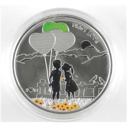 925 Sterling Silver $5.00 'First Love' Coin