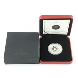 2004 Special Edition Proof Silver Dollar, 'Poppy'.