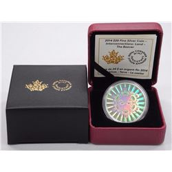 2014 - $20.00 Fine Silver Coin 'Interconnections: