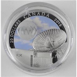 Pure Silver Coin The Universe: Glow-in-the-Dark Gl