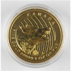 Canada - $200.00 Gold Coin .9999 Fine Pure Gold 'H
