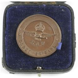 Estate - Royal Air Force Medal, Cadet in Fitted Bo
