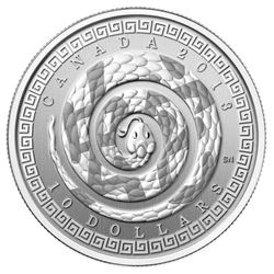 Special Edition 2013 Fine Silver Year of the Snake