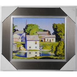 A.J. Casson (1898-1992) Brushworks Panel. Gallery