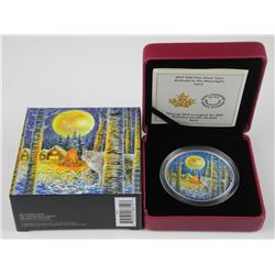 9.9 Fine Silver $30.00 Coin Animals In The Moonlig