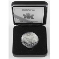 1997 - 10th Anniversary Silver Proof Loon Dollar '