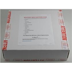"""Mystery Box - Jewellery Coins, RCM Issues, Sports. Size: 15x15x4"""" MSR: $2061.00"""