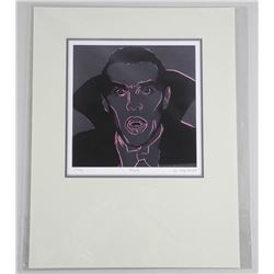 "Andy Warhol (1928-1987) ""Dracula"" Ultra Giclee. Rare #1. 12x14 Inches."