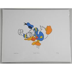 """Disney """"Donald Duck"""" Litho. 11x14 Inches."""