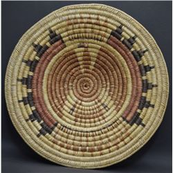 NAVAJO BASKETRY TRAY ( BLACK )