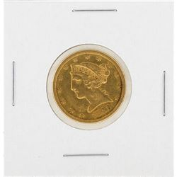 1886-S $5 Liberty Head Half Eagle Gold Coin