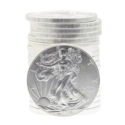 Roll of (20) 2011 $1 American Silver Eagle Brilliant Uncirculated Coins