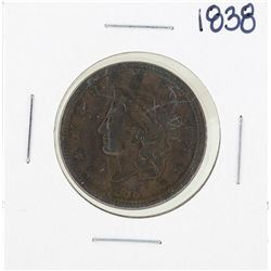 1838 Braided Hair Large Cent Coin
